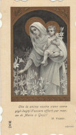 SANTINO MARIA E BAMBINO 1905 (7H - Andachtsbilder