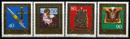Liechtenstein - Michel 673 / 676 - ** Postfrisch (A) - Reichskleinodien III - Liechtenstein
