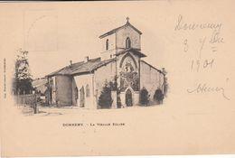 G , Cp , 88 , DOMRÉMY , La Vieille Église - Domremy La Pucelle
