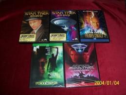 DVD  REF  74  °°  LE LOT DES 5  DVD  DE STAR TREK °°° - Ciencia Ficción Y Fantasía