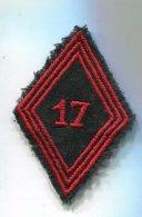 D56 LOSANGE DE BRAS MODELE 45 17°Rgt Genie Para De 1954 à 1962. Guerre D'algérie - Scudetti In Tela