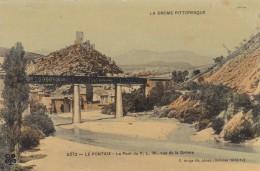 (42)  LE PONTAIX - Le Pont Du P.L.M, Vue De La Drôme (Carte Glacée) - France