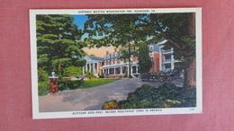 Virginia  Martha Washington  Inn  Abingdon        ====ref 2381 - United States