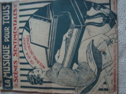 LA MUSIQUE POUR TOUS - -Partition Musicale Ancienne - Non Classés