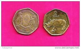 BOTSWANA 2004, Circulated Coin VF, 2 Pula, Small , C972 - Botswana