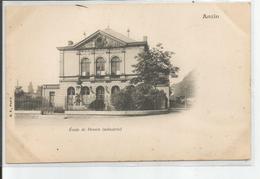 ANZIN   Ecole De Dessin Industriel ,flou Artistique - Anzin