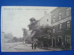 LA HULPE : Quartier De La Gare, L'arrivée En 1904 - La Hulpe