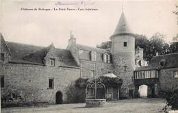 RIEC SUR BELON - CHATEAU DE LA PORTE NEUVE - CHATEAUX DE BRETAGNE - COUR INTERIEURE - France