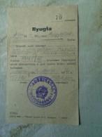 D142145   Tax Receipt  Mezöberény  Hungary 1947 - Facturas & Documentos Mercantiles