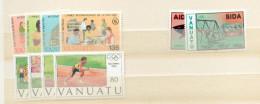 Col 5 - VUATU - YT 751/54 - 870/73- 891/94 ** - Vanuatu (1980-...)