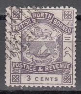 NORTH BORNEO    SCOTT NO  38    USED     YEAR  1887 - North Borneo (...-1963)