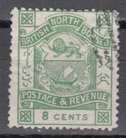 NORTH BORNEO    SCOTT NO  42    USED     YEAR  1887 - North Borneo (...-1963)