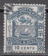NORTH BORNEO    SCOTT NO  43    USED     YEAR  1887 - North Borneo (...-1963)