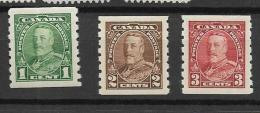 1935 MH Canada, Coil Stamps - Neufs