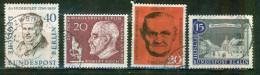 A. Von Humboldt, Explorateur - ALLEMAGNE - BERLIN - Dcteur Robert Koch, Hans Bockler, Syndicaliste - 1957 - [5] Berlin