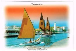 T226 Cesenatico (Forlì Cesena) - Porto Canale - Barche Boats Bateaux / Viaggiata 2000 - Italia