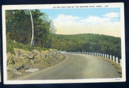 Cpa Etats Unis Nantucket  Massachusetts -- Up The East Side Of The Mohawk Trail   JIP45 - Nantucket