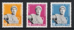 Schweiz Helvetia 1944 Mi# 428-30 ** MNH Sport Olympische Spiele Olympics - Schweiz
