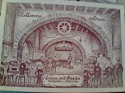 LAZISE LAGO DI GARDA  TAVERNA RISTORANTE ORESTE ILLUSTRATAA TRIVELLA N1980 FS7381 - Verona
