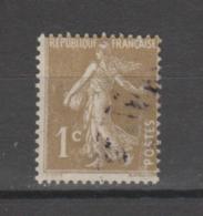 FRANCE / 1932 / Y&T N° 277A : Semeuse Camée Bistre-olive - Choisi - Cachet Rond - France