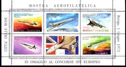 Vignette Concorde Sst Rovigo 1972 Air France - Erinnophilie