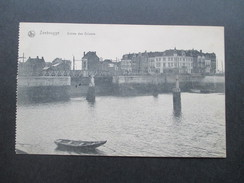 AK 1. WK 1915 Zeebrugge. Entree Des Ecluses. Feldpostexpedition Der 53. Reserve Division - Zeebrugge