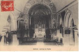84-CPA Gargas Intérieur De L'église  ( Cachet Ambulant Pierrelatte à Nyons) - Other Municipalities