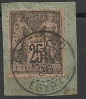Timbre De France Avec Oblitération De Port Said EGYPTE 1896