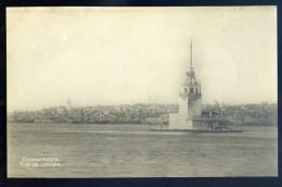 Cpa De Turquie Constantinople -- Tour De Léandre   JIP46 - Turquie