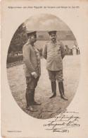 Rotes Kreuz AK Kaiser Wilhelm ? Hindenburg ? Nach Einer Aufnahme Der Kaiserin Im Schloss Posen Poznan 1915 Militär WWI - Personaggi