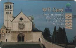 *ITALIA* - WTI CARD (ASSISI) - Scheda NUOVA (MINT) - Italy