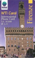 *ITALIA* - WTI CARD (FIRENZE) - Scheda NUOVA (MINT) - Italy