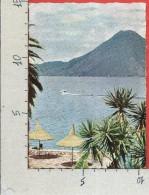 CARTOLINA VG GUATEMALA - Lago Y Volcan De Atitlan - Vulcano - 10 X 15 - ANN. 1983 - Guatemala