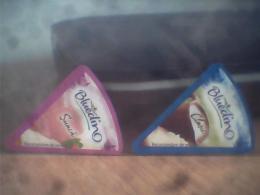 Romania - 4 Labels Cheese - Kaas
