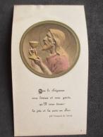 SANTINO - HOLY CARD - IMAGE RELIGIEUSE, SAINT FRANÇOIS DE SALES, Belgique COUVIN 1933 - Devotion Images