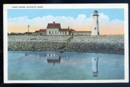 Cpa Etats Unis Massachusetts - Light House , Scituate  JIP46 - Nantucket