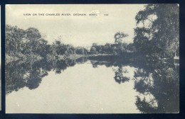 Cpa Etats Unis Massachusetts - View On The Charles River   JIP46 - Nantucket