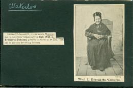 Document ( 384 ) Origineel Knipsel Uit Tijdschrift 1912  -100 - Jarige Honderdjarige Everaerts Waterloo Nivelles - Vieux Papiers