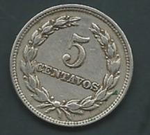 El Salvador 5 Centavos 1972  Pieb20801 - El Salvador
