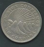 NICARAGUA 1 CORDOBA 1972   Pieb20903 - Nicaragua