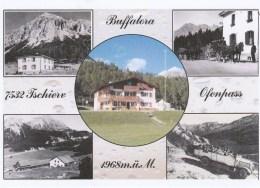 BUFFALORA  TSCHIERV   POSTAUTO POSTBUS AUTOBUS CAR POSTAL - GR Graubünden