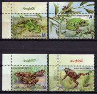 Belarus 2015 Bielorrusia  / Amphibians Frogs MNH Ranas Frösche / Cu1519  1 - Frösche