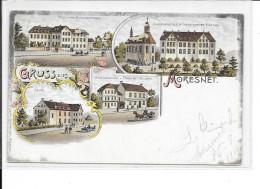 MORESNET - Gruss Aus Moresnet - Verlag: Eigenthum P. Mostert-Willem Buchhändler - Circulé:1904 Voir Cachet Au Dos. - Plombières
