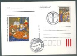 4352 Hungary FDC Postcard Royalty King History - Royalties, Royals