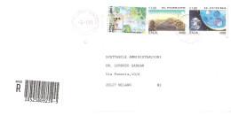 AFFRANCATURA MISTA SU RACCOMANDATA - 2001-10: Marcophilie