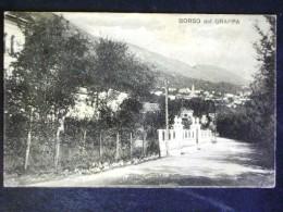 VENETO -TREVISO -BORSO DEL GRAPPA -F.P. - Treviso