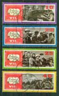 Congrès Du Parti Socialiste Allemand - R.D.A. ALLEMAGNE ORIENTALE - Réglage, Agriculture - N° 956-960-961-962 - 1967 - Used Stamps