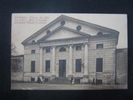 CA5 ITALIA CARD - VG. 1921 - VICENZA PALAZZO ANTI CALVI MURE PALLAMAIO ARCHITETTO CALDERARI - Vicenza