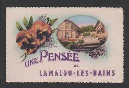 DF / 34 HÉRAULT / LAMALOU-LES-BAINS / UNE PENSÉE DE LAMALOU-LES-BAINS - Lamalou Les Bains
