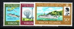 T1420 - VIRGIN ISLANDS , Yvert N. 181/83  ***  MNH - British Virgin Islands